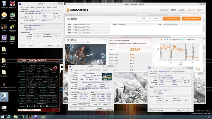 ASUS ROG Rampage IV Black Edition Breaks Five Overclocking