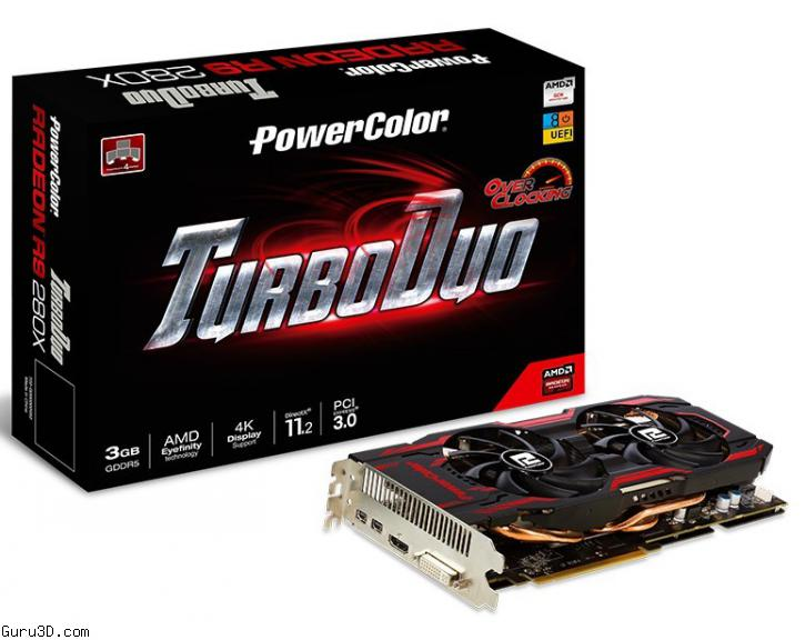 PowerColor Radeon R9 280X TurboDuo OC