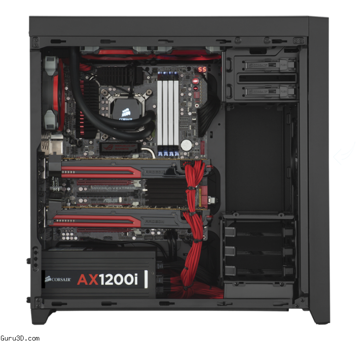 how to make equal pc case pressure with 240mm rad