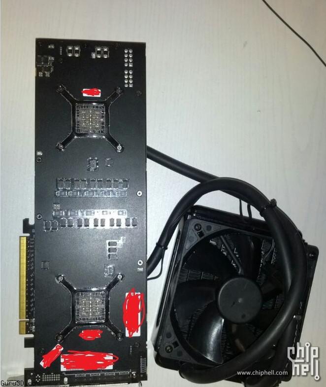 Radeon R9 295X2 Photo's and Specs leak in Asia