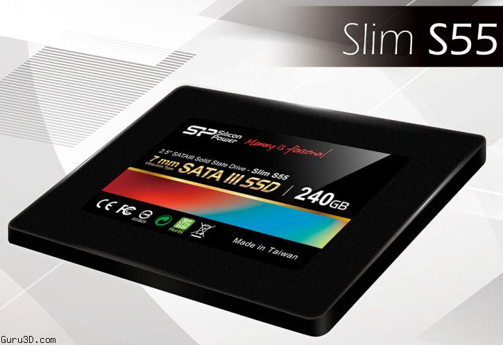 Silicon Power Adds S55 SATA III 6 Gb/s SSD