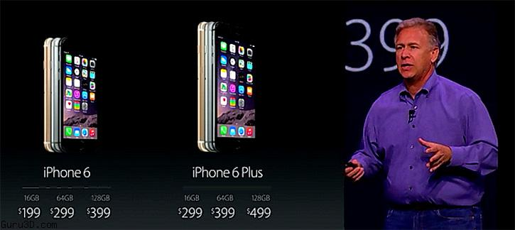 Apple announces iPhone 6 and Apple Watch