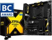 MSI X99A GAMING 9 ACK Motherboard Wins Computex award