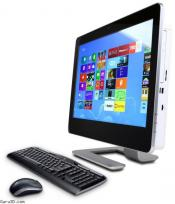 CyberPowerPC Zeus All-in-One Touchscreen with Windows 8