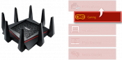 ASUS RT-AC5300 Tri-Band WiFi 802.11ac Router does up-to up to 5334Mbps