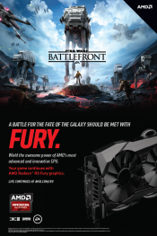 AMD adds Star Wars Battlefront to Fury X as bundle as well