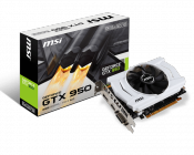 MSI Releases 75W GeForce GTX 950 Graphics Card
