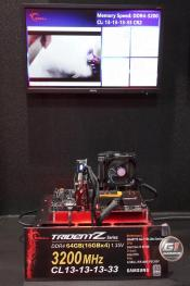 G.SKILL Booth Shows Extreme DDR4 Memory On Demo Systems at Computex
