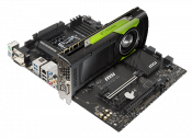 Quadro SLI Certification for MSI X99A Workstation motherboard