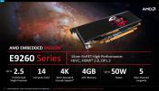 AMD announced Embedded Radeon E9260 and E9550 graphics processing units