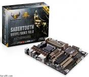 ASUS AMD SaberTooth motherboard with PCI Express 3.0