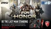 MSI Bundles For Honor with motherboards and desktops