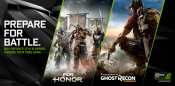 NVIDIA Bundles For Honor & Ghost Recon Wildlands