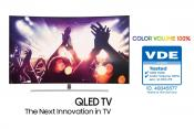 New Samsung QLED TV Becomes 100 Percent Color Volume Verified