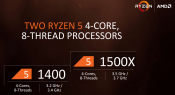AMD Readies Ryzen 5 Series and will offer six- and four-core processors starting April 11