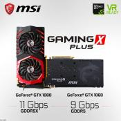 MSI To Release Gaming X PLUS GTX 1060 and 1080 with Faster memory