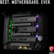MSI Teases Possible X299 Chipset Based Motherboard
