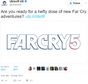 Ubisoft announces Far Cry 5, The Crew 2 and new Assassins Creed
