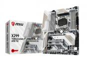 MSI To Release X299 Tomahawk in a White Arctic Edition
