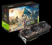 ASUS shows Assassins Creed Origins ROG STRIX 1080 Ti Edition