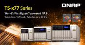 Qnap TS-x77 Series NAS Gets AMD Ryzen CPUs