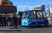 Autonomous Las Vegas Shuttle Bus involved in Accident within an hour