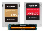 Toshiba Adds New Data Center SSDs Featuring BiCS FLASH 64-Layer 3D Flash Memory