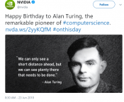 NVIDIA Congratulates Turing - But Might Delay new upcoming Turing graphics cards