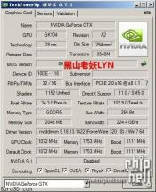 NVIDIA GeForce GTX 760 Specifications Surface (kinda)