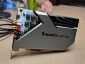 Creative Labs shows high-end Sound BlasterX AE-9