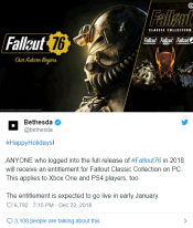 Bethesda will offer Fallout Classic collection for free (kinda)