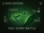 Razer shows mouse, wrist rest and chair with haptic feedback