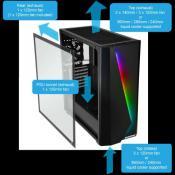 ENERMAX Launches MAKASHI MK50, an Elegant RGB E-ATX Gaming Case