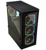 ENERMAX Adds StarryFort SF30 chassis with 4x SquA RGB Fans