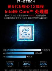 Intel Core i7-9750H and GeForce GTX 1650 Perfs leaks though marketing material