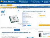 Intel's 'Auction-only' 14 Core Core i9-9990XE Gets Listed at Retailer website for 2999 EUR