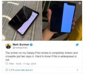 Are Galaxy Fold Phones Breaking Down?