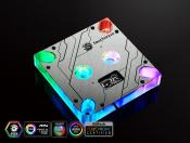 Bitspower Touchaqua Summit MS water block for Intel procs has RGB and small OLED display