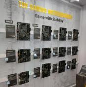 The ASUS Motherboards on Display at Computex - ALL of them.