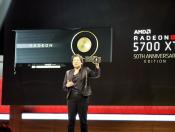 AMD: Radeon RX 5700 XT Will Also Be Released As a Faster 50th Anniversary Edition