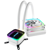 Enermax Expands AQUAFUSION ARGB Liquid Cooler Series with White Version