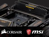 5000 MHz DDR4 memory DIMMs for Ryzen 3000 from Corsair (priced $1225)