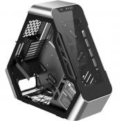 Jonsbo TR03 is a Triangle PC case with diagonally mounted motherboard
