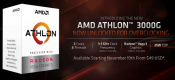 AMD Releases Athlon 3000G Processor for Mainstream Desktop Users