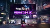Asus ROG Swift 360 monitor get a refresh rate of 360Hz