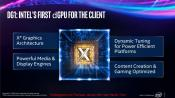 Intel Expands on Xe Product positioning - Shows DG1 Development card photos and Xe Slides