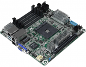 ASRock Rocks Out the X570D4I-2T - A mini-ITX X570 motherboard with two 10 Gigabit Ethernet Jacks