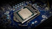 Intel Core i9-10900 10-core Processor Poses for Camera