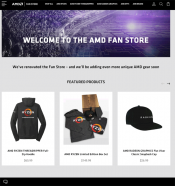AMD Started a fan shop in the USA selling all kinds of goodies.