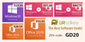 Advertorial: Windows 10 Professional for $14 and good deals on URcdkey